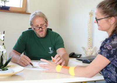 Handtherapie Beratung