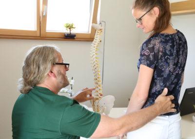 Beratung Faszientherapie
