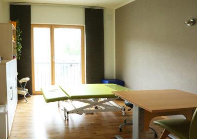 Raum 2 für neurologische und motorisch-funktionelle Behandlung
