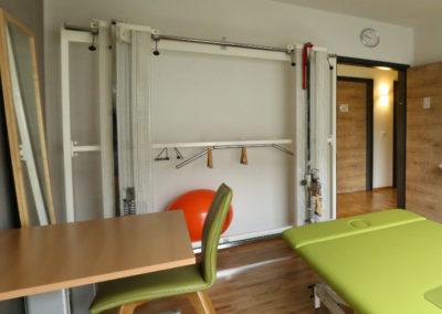 Raum 1 für neurologische und motorisch-funktionelle Behandlung